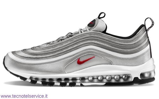 air max 97 silver bambino