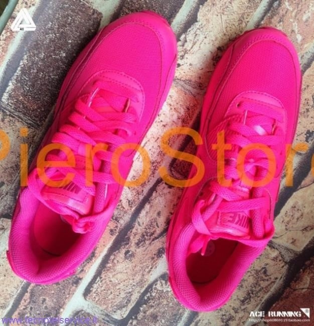 air max rosa fluo