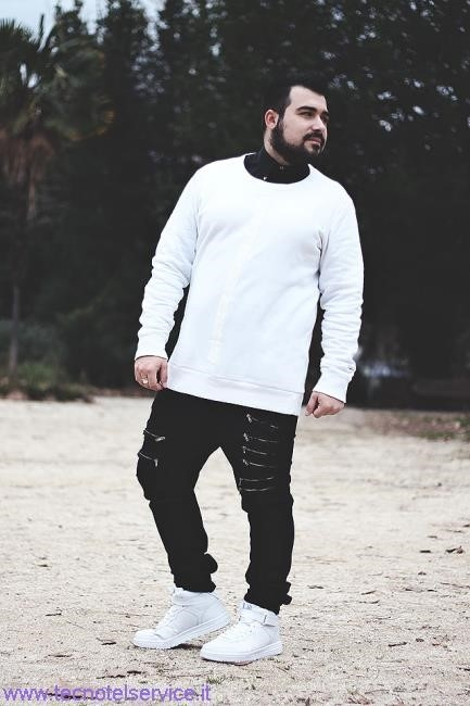 air max bianche outfit