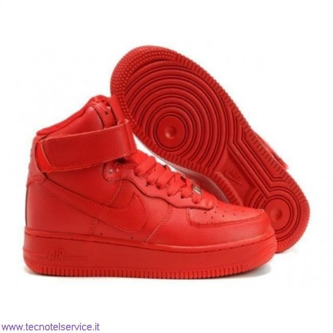 12++ Scarpe Nike Rosse E Bianche