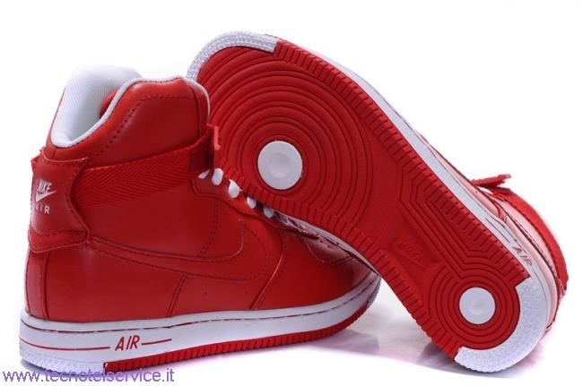 nike air force 1 donna rosse