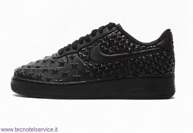 Nike Air Force Nere Basse Miglior Prezzo tecnotelservice.it