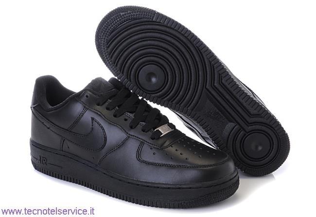 Nike Air Force 1 Nere Basse Prezzo tecnotelservice.it