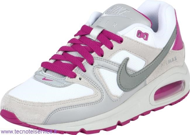 Air Max Command Bianche E Rosa